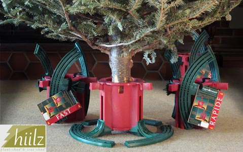 small Christmas tree stand self-adjusting