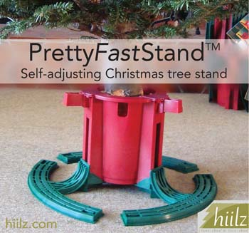 Christmas tree stand self-adjusting PrettyFastStand